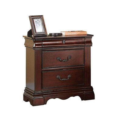 Weathersby 3 Drawer Nightstand