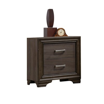 Bowne 2 Drawer Nightstand