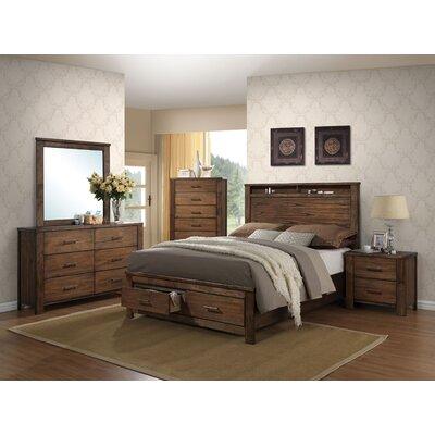 Schlesinger Storage Panel Configurable Bedroom Set