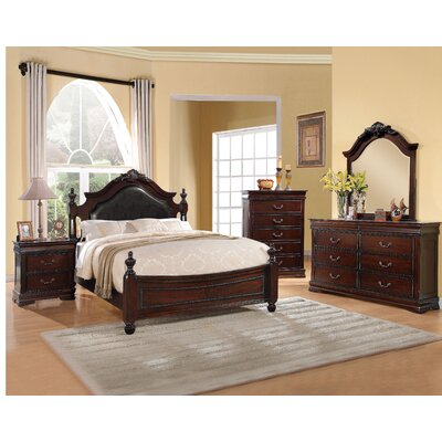 Weyer Panel Wood Configurable Bedroom Set