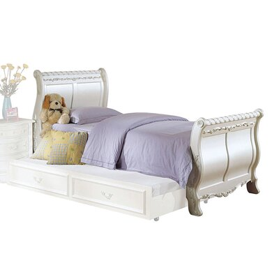 Scalia Full Sleigh Bed