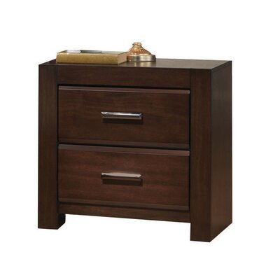 Schiffman 2 Drawer Nightstand