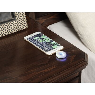 Strasburg 2 Drawer Nightstand with Qi Wireless Charge