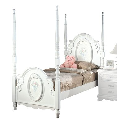 Schaub Four Poster Bed Size: Full