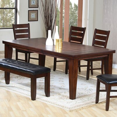 Stanley Extendable Dining Table Finish: Cherry