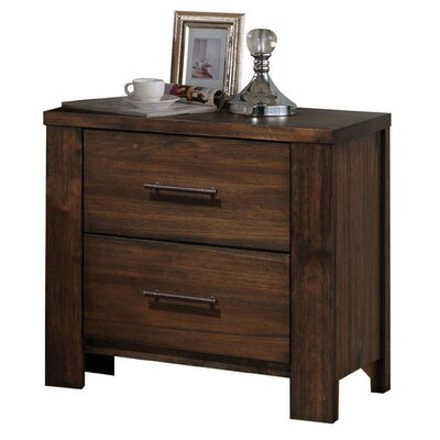 Schlesinger 2 Drawer Nightstand