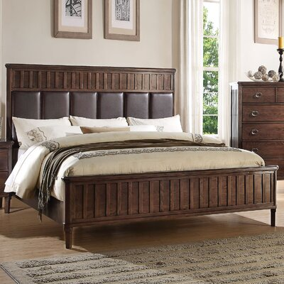 Strasburg Upholstered Panel Bed Size: Queen