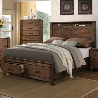 Schlesinger Storage Panel Bed Size: Queen