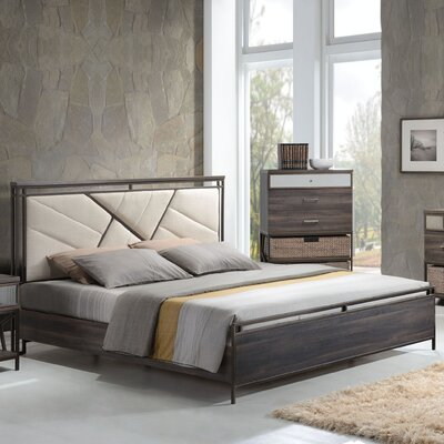 Welker Upholstered Panel Bed Size: California King