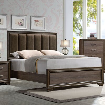 Bowne Upholstered Panel Bed Size: Queen