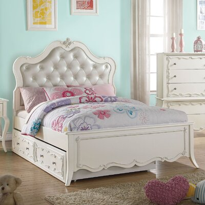 Schechter Tufted Upholstered Platform Bed Size: Full