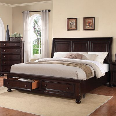 Stewardson Storage Sleigh Bed Size: Eastern King
