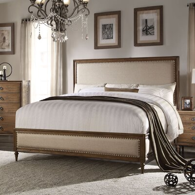 Thompsonville Upholstered Panel Bed Size: Queen