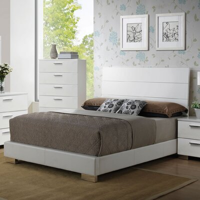 Schiavone Upholstered Panel Bed Size: Eastern King