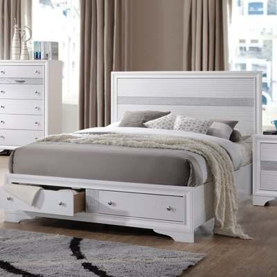 Cecelia Storage Platform Bed Size: Eastern King