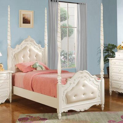 Scalia Four Poster Bed Size: Full