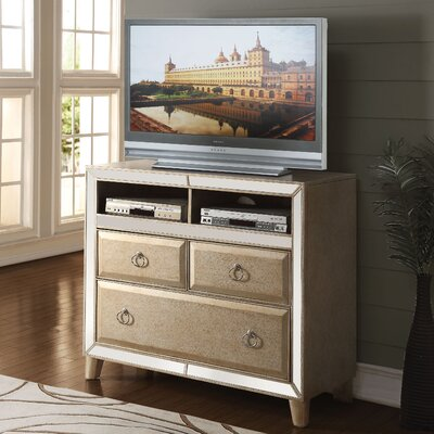 Caterina Mirrored 46 TV Stand