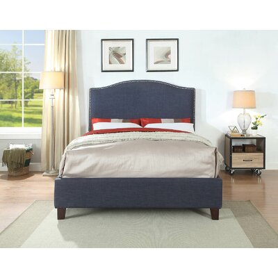 Edinburgh Queen Upholstered Platform Bed