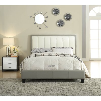 Tam Queen Upholstered Panel Bed