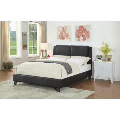 Quoc Queen Upholstered Platform Bed