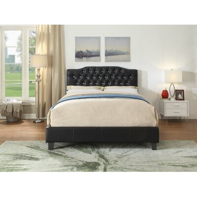 Franky Queen Upholstered Panel Bed