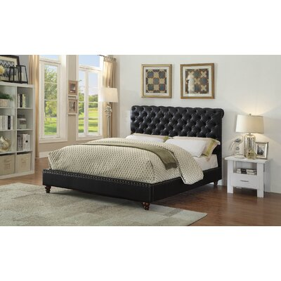 Francene Queen Upholstered Platform Bed