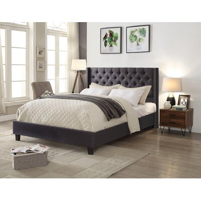 Bayswater Queen Upholstered Platform Bed