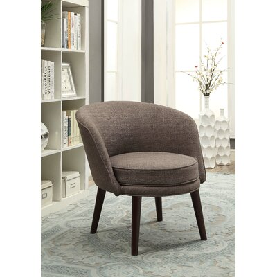 Nhung Solid Barrel Chair