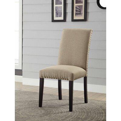 Ellettsville Upholstered Dining Chair Upholstery: Tan