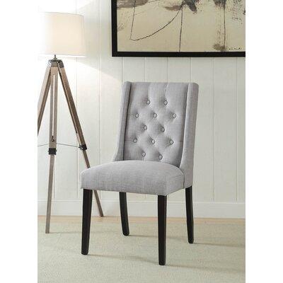 Yodani Upholstered Dining Chair Upholstery: Light Gray