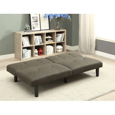 Porcaro Wood Adjustable Wood Frame Sleeper Sofa Upholstery: Dark Olive