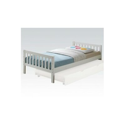 Scheller Mission Twin Slat Bed with Trundle