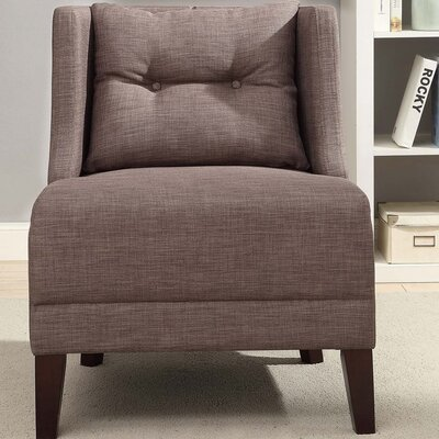 Niantic Solid Wingback Chair