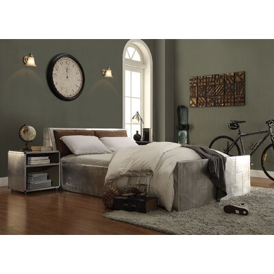 Annessia Queen Upholstered Storage Platfoorm Bed