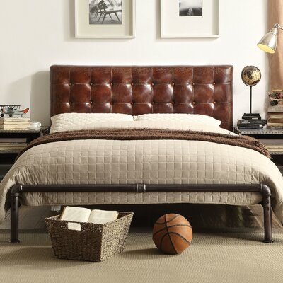 Annessia Queen Upholstered Platform Bed