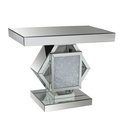 Blakeston Mirrored Console Table