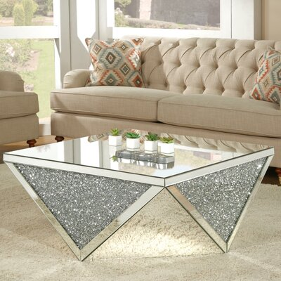 Blaker Mirrored Coffee Table