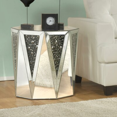 Blakes Mirrored End Table