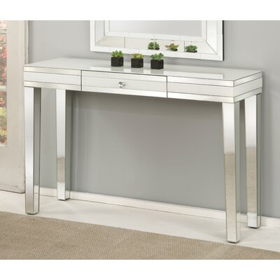 Bladon Mirrored Console Table