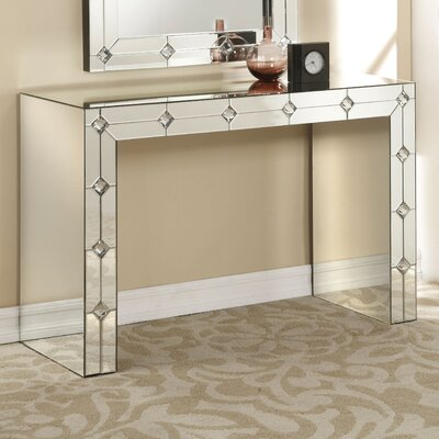 Blaire Mirrored Console Table