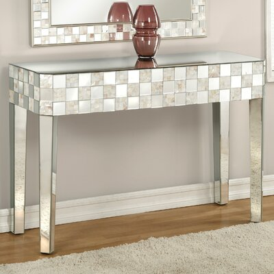Blakesley Mirrored Console Table