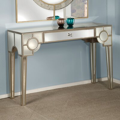 Blackshale Mirrored Console Table