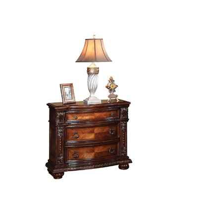 Mccullers 3 Drawer Nightstand