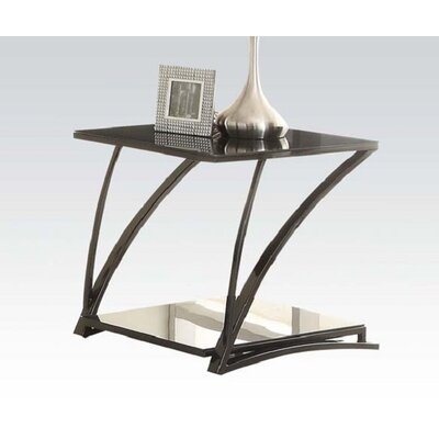 Ince Glass End Table