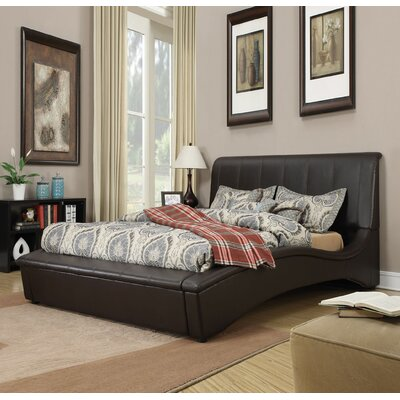 Deshields Upholstered Sleigh Bed Size: King