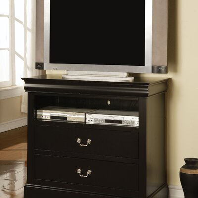 Whispering Pines 37 TV Stand Color: Black