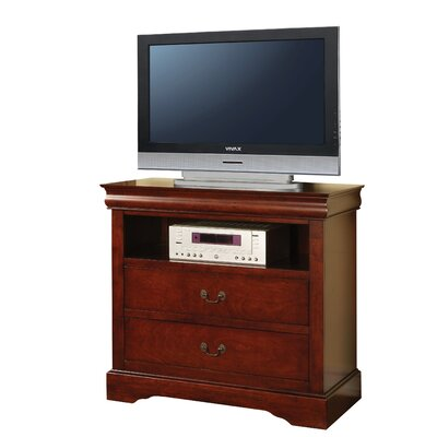 Whispering Pines 37 TV Stand Color: Cherry