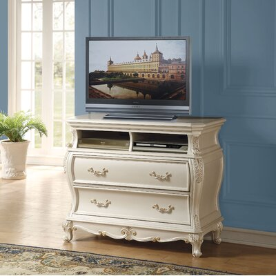 Chalfont 45 TV Stand Color: Pearl White