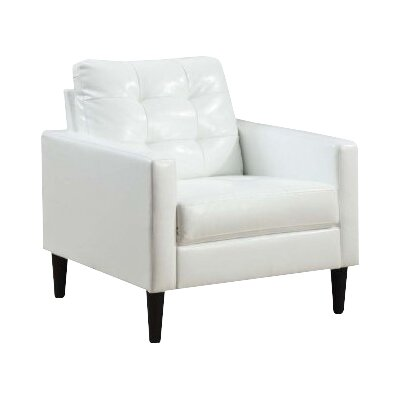 Balin Club Chair Upholstery: White