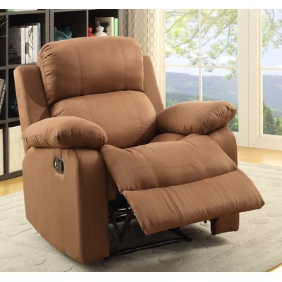 Parklon Manual Recliner Upholstery: Brown